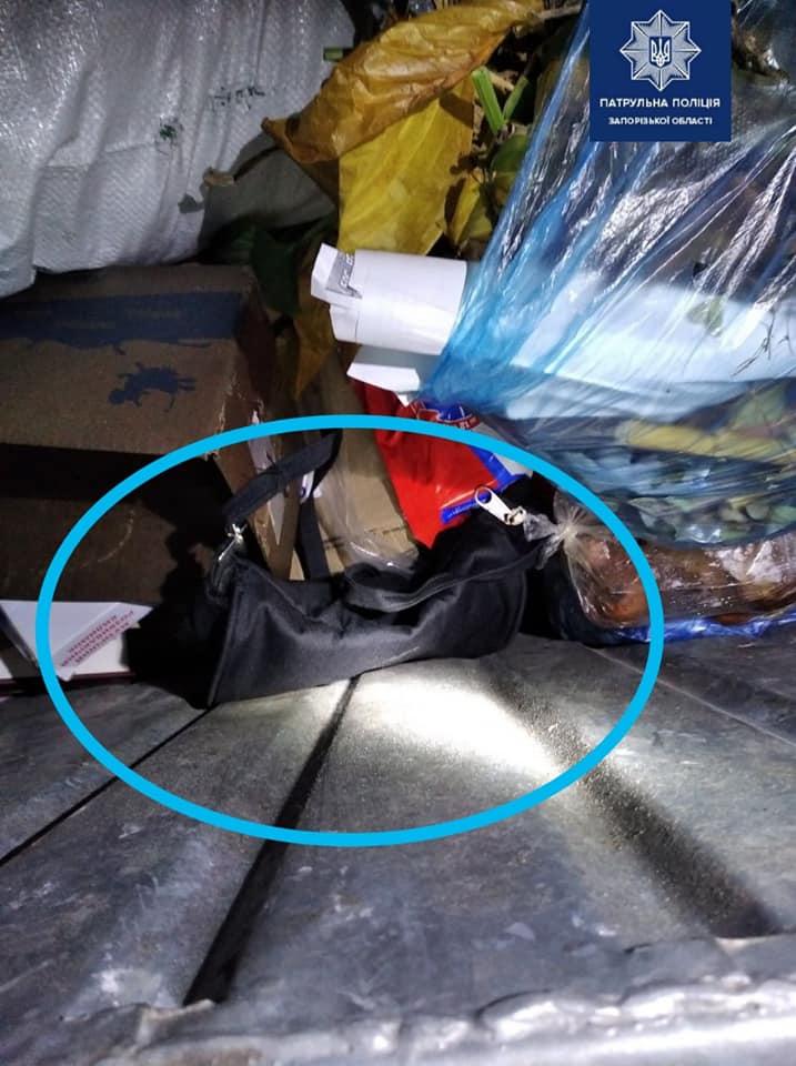 полиция нашла украденную сумку