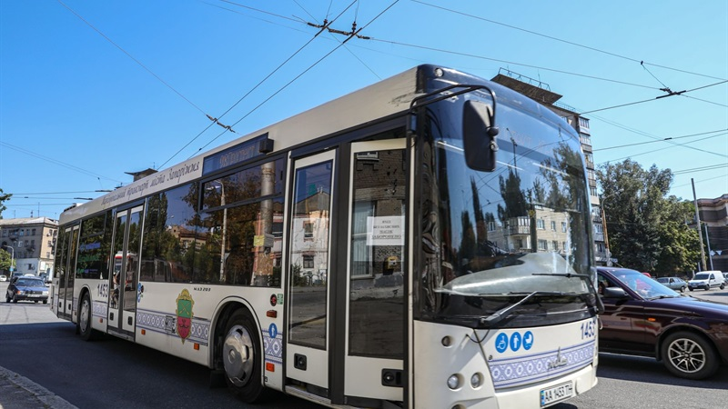 В Запорожье временно отменили льготы на проезд в общественном транспорте