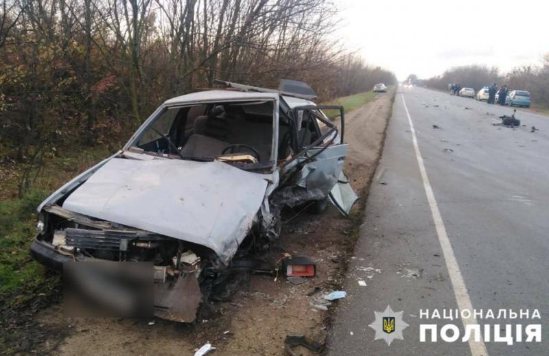 авария в Мелитопольском районе