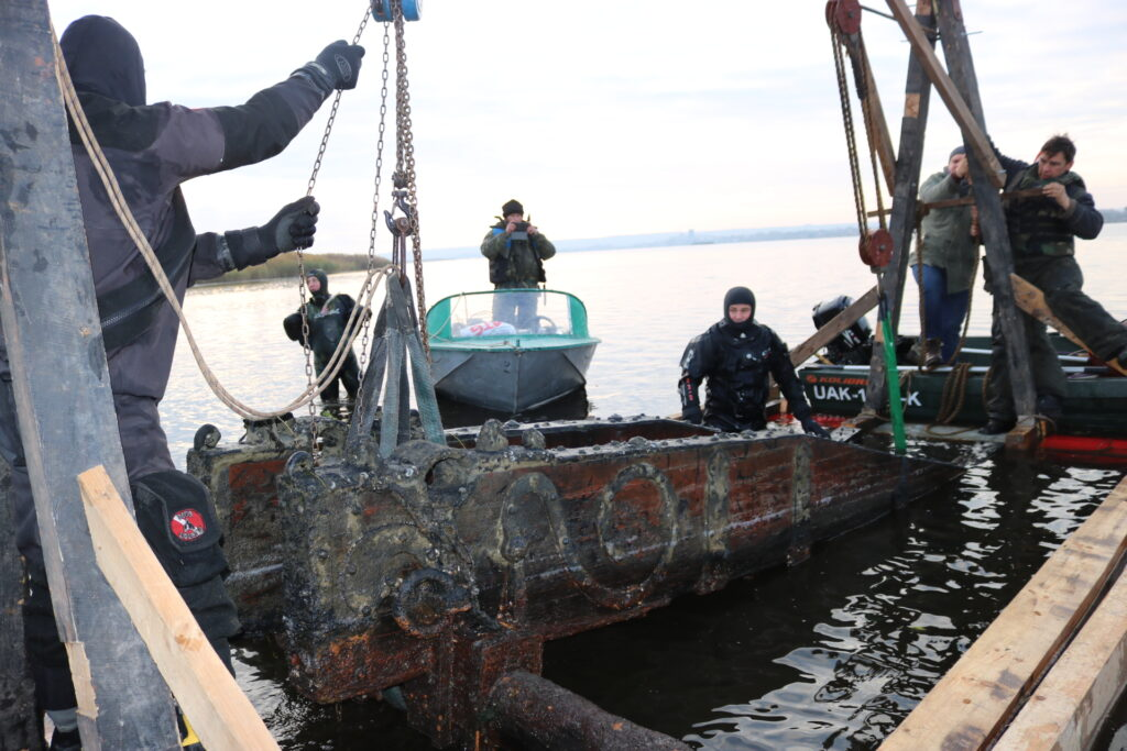 «Запорожсталь» помог Национальному заповеднику «Хортица» приобрести ценный артефакт