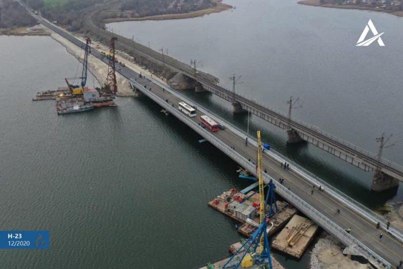 На трассе Н-23 восстановили разрушенный мост