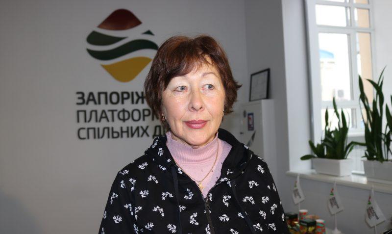 """секретар правління ОСББ """"Зестафонська, 20"""" Людмила Туцькая"""