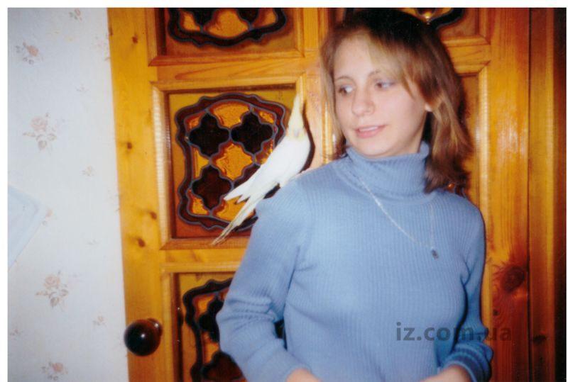 Анна Ковалева с Кешей 20 лет назад
