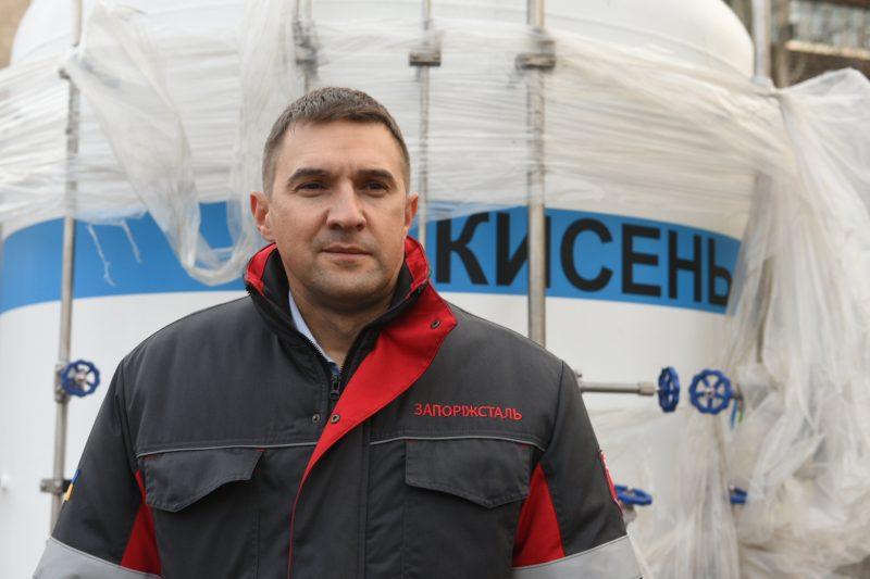 головний інженер ПАТ «Запоріжсталь» Микола Петряков
