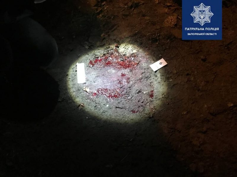 В Запорожье 17-летний парень ударил полицейского ножом