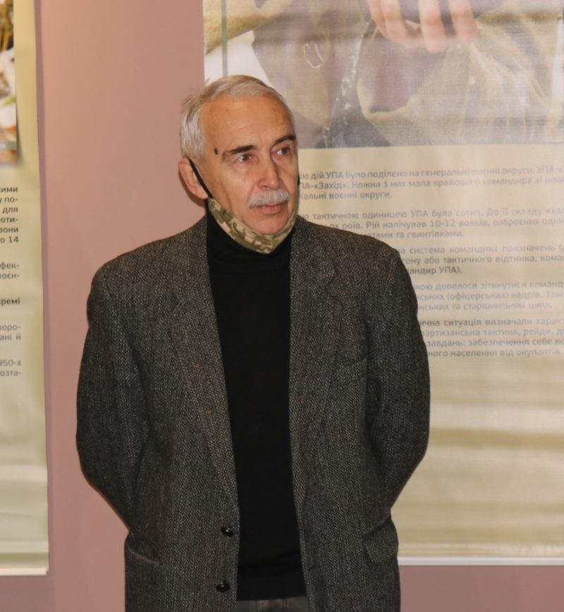 заместитель директора по научной работе Запорожского областного краеведческого музея Георгий Шаповалов