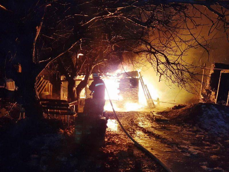 В Запорожкой области в пожаре погиб мужчина
