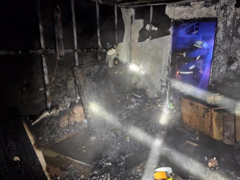 Пожар в Пологах