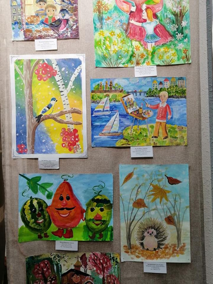 Запорожские дети показали, как они видят красоту - фото