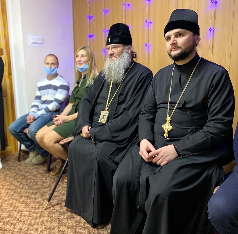 владыка Лука и Александр Клименко