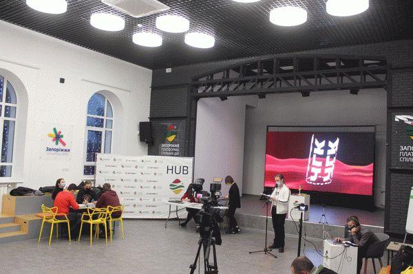 Запорожские студенты сыграли в известную интеллектуальную игру