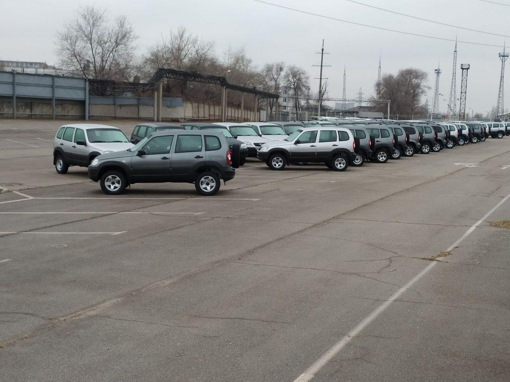 Запорожский автозавод заполняет площадку новыми авто (ФОТО)