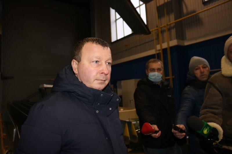 главный конструктор по опытным изделиям АО «Мотор Сич» Александр Жердев