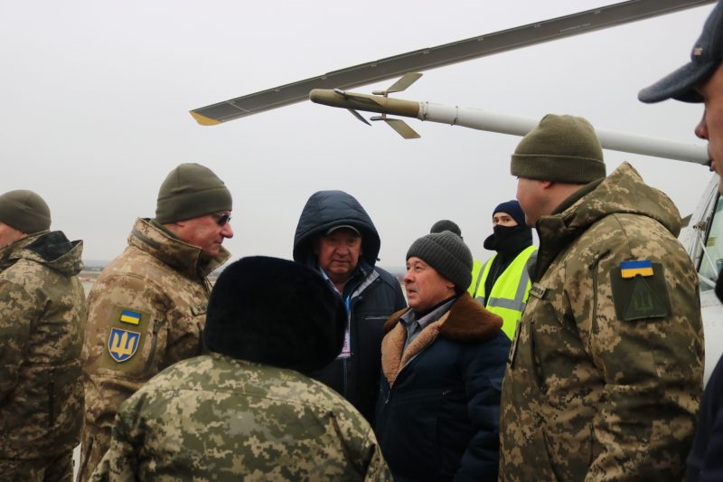 Запорожское предприятие впервые в Украине начало выпускать лопасти для вертолетов