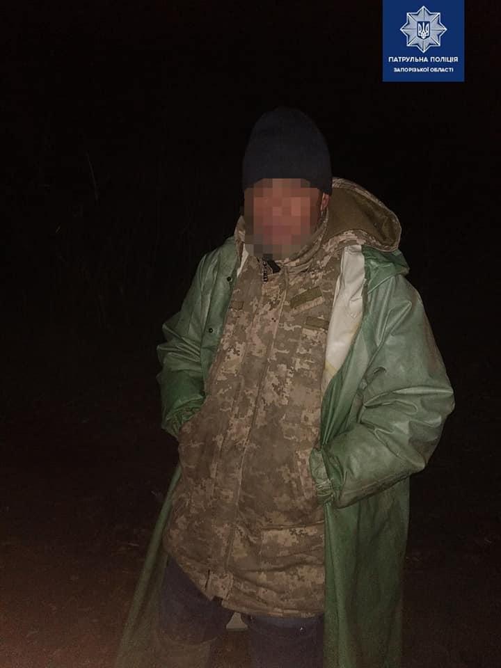 """Жители Запорожской области поймали браконьеров """"на горячем"""" и вызвали полицию"""