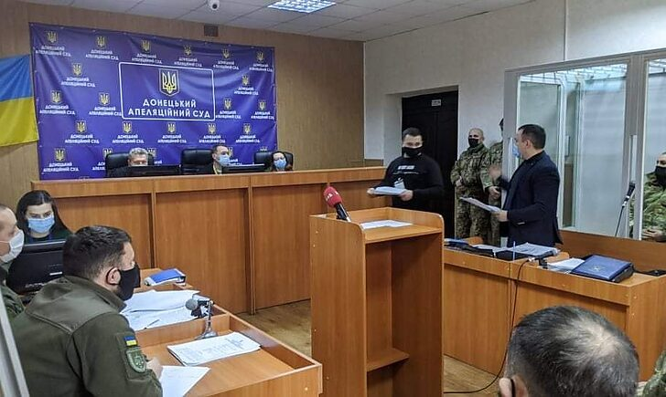 Лановенко Павел в суде