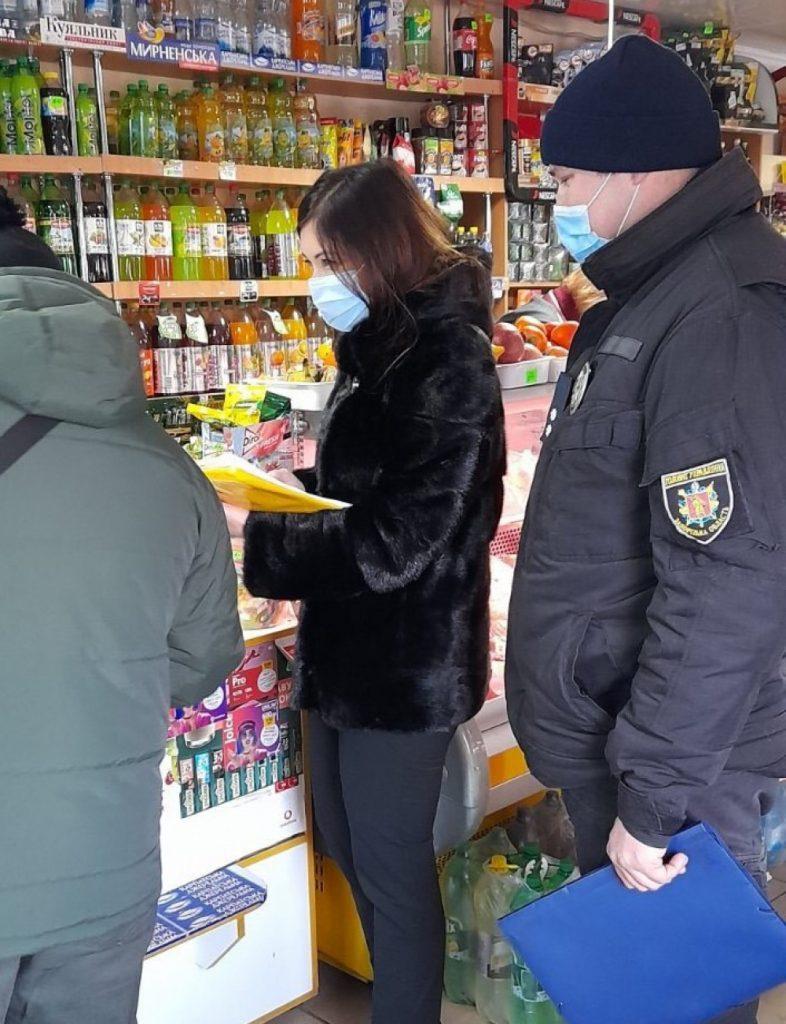Информацию о нарушениях передали в органы местной власти и Национальной полиции