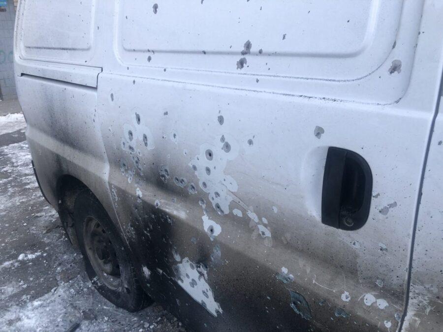 В полиции рассказали подробности взрыва микроавтобуса в Запорожской области (ВИДЕО)
