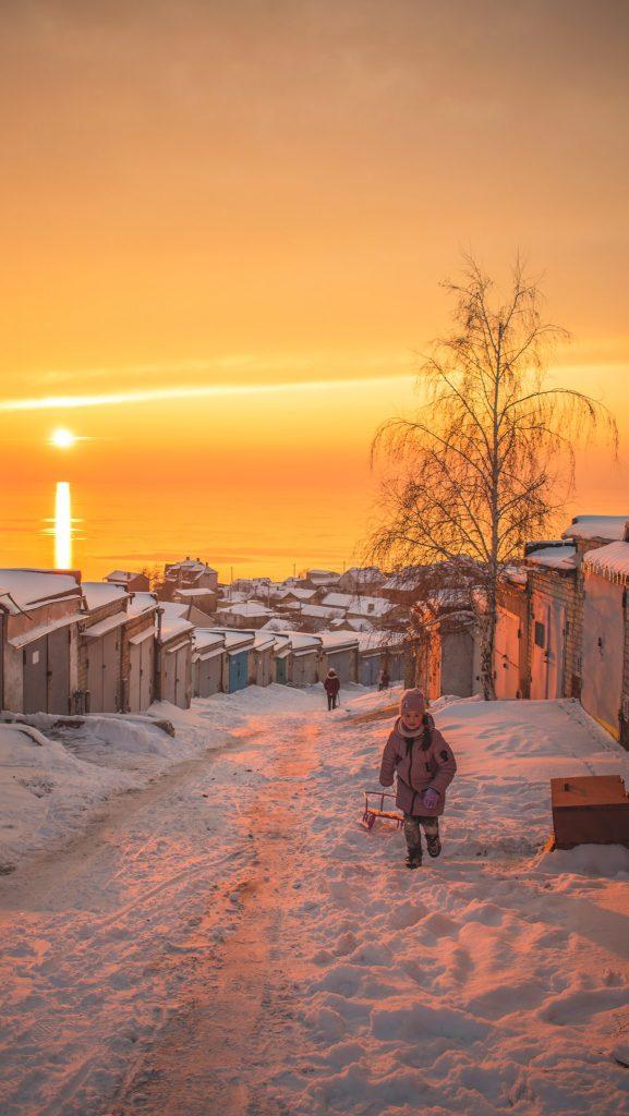 Фотограф Юлия Покас сделала впечатляющие снимки заката в Бердянске