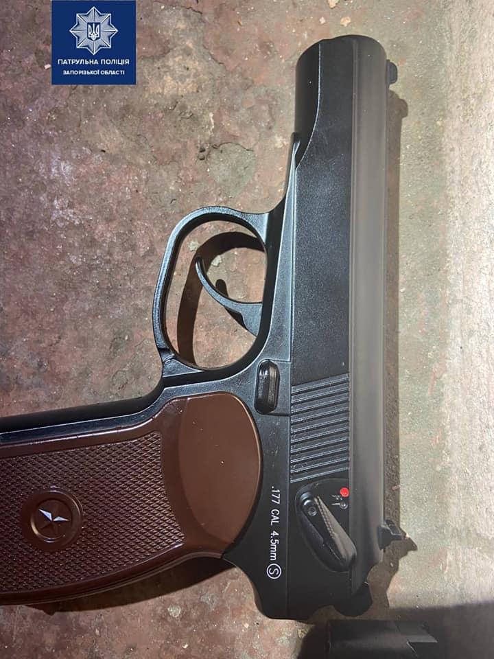 нашли пистолет у мужчины