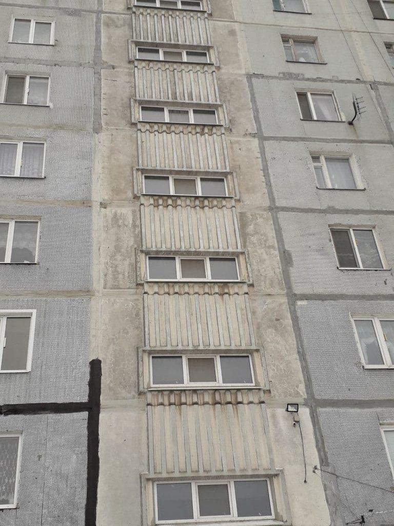 заменили окна