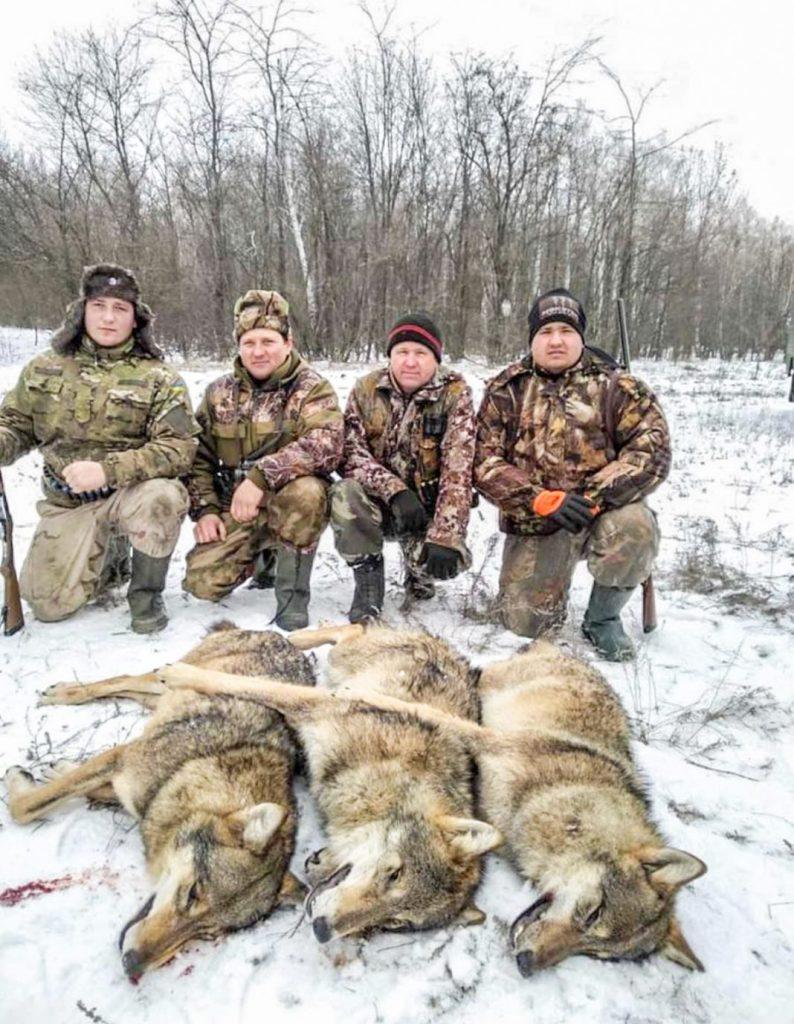 пологовские охотники и их трофеи