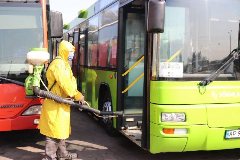дезінфекція автобусів