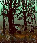 Цифровые картины на зимнюю тему Натальи Луценко