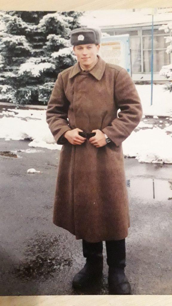 1 марта 1999 года , утром поздравили, а вечером заступил в наряд