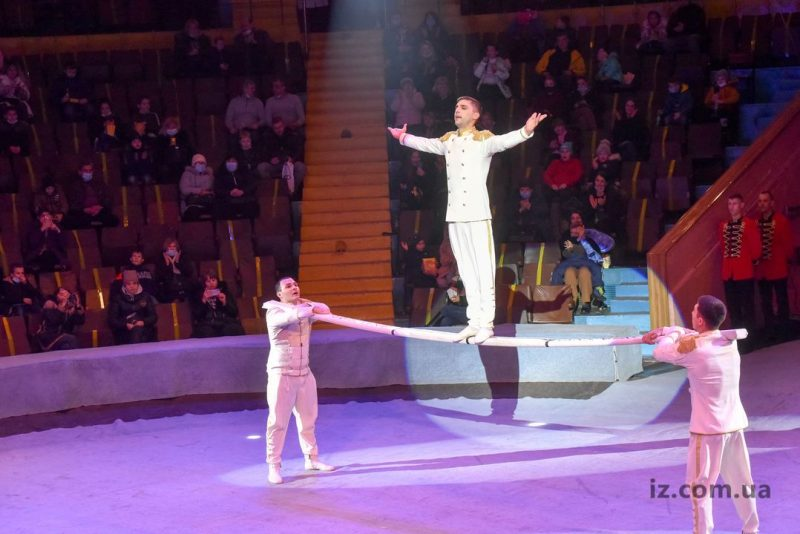 В цирке