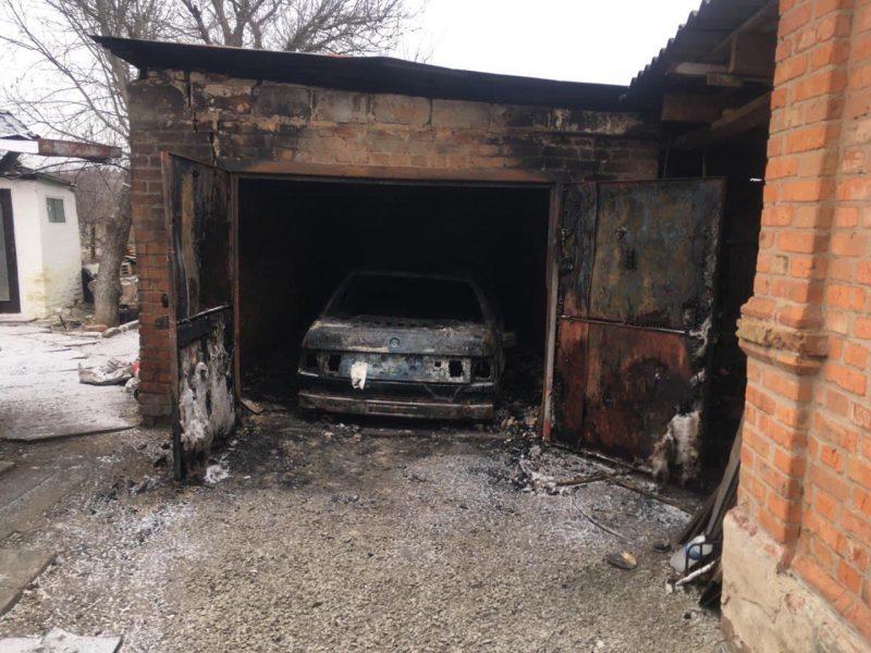пожар в Орехове