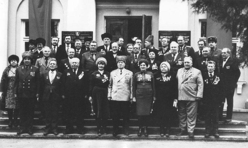 Герои-освободители. 1974 год