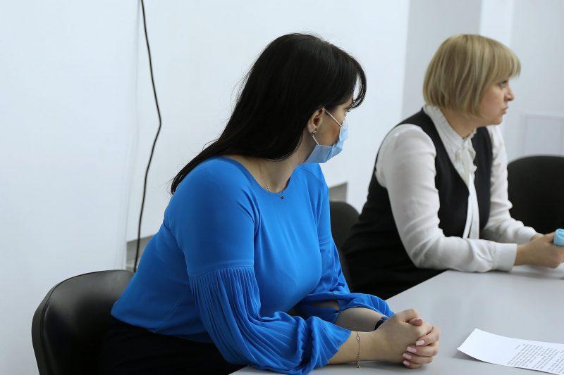 Елена Жук и Юлия Погребняк