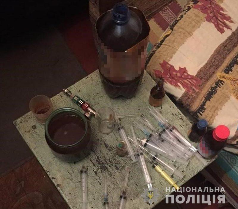 Житель Запорожья в своей квартире устроил наркопритон