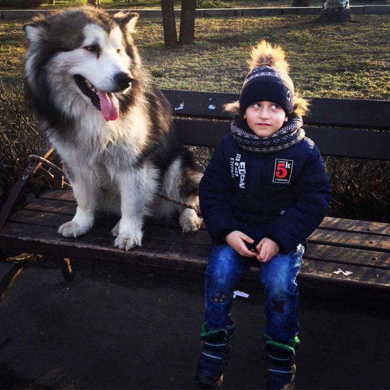 Макар с собакой