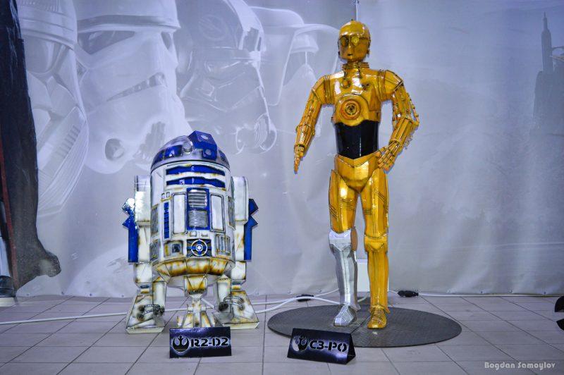 Звездолеты, роботы и Мастер Йода — в Запорожье откроется крутая выставка