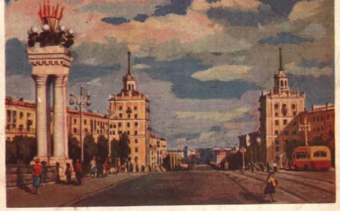 Как более полувека назад выглядело Запорожье на открытках