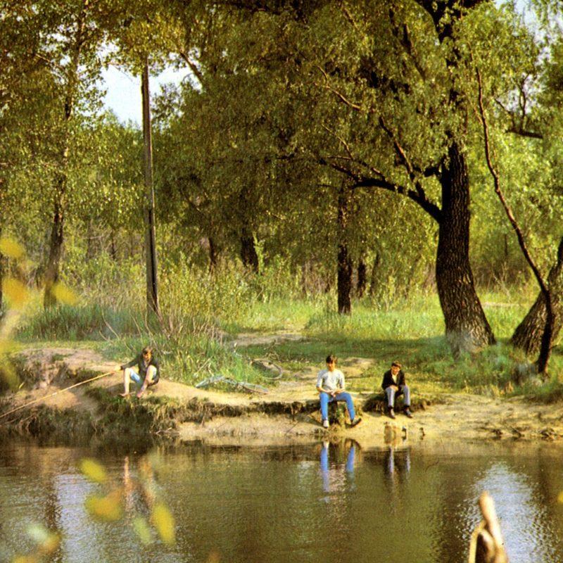 Какой была весна в Запорожье более 50 лет назад- фото