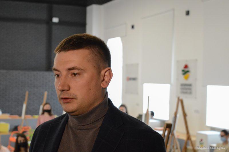 главный специалист по взаимодействию с молодёжью ПАО «Запорожсталь» Анатолий Ширма