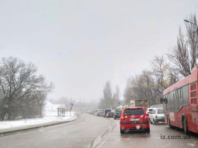 Пробка на мост Преображенского
