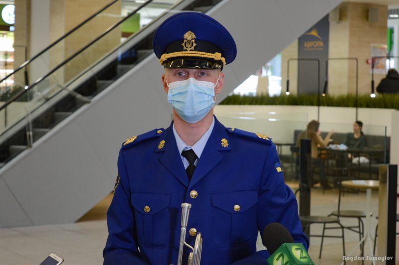 сержант 23-й отдельной бригады по охране общественного порядка Национальной гвардии Украины Андрей Кириллов.