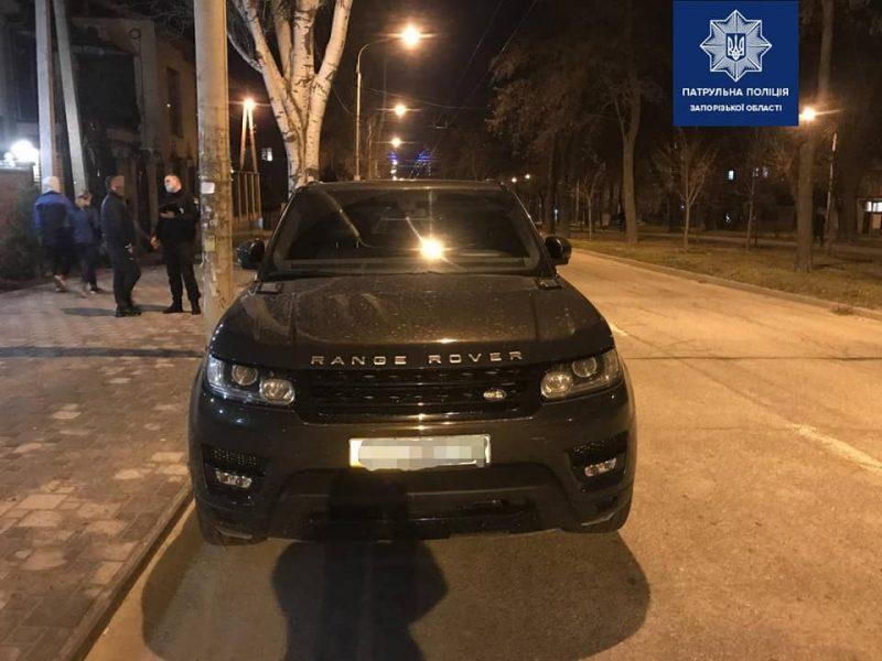 В Запорожье нашли автомобиль, который несколько лет назад угнали из Германии