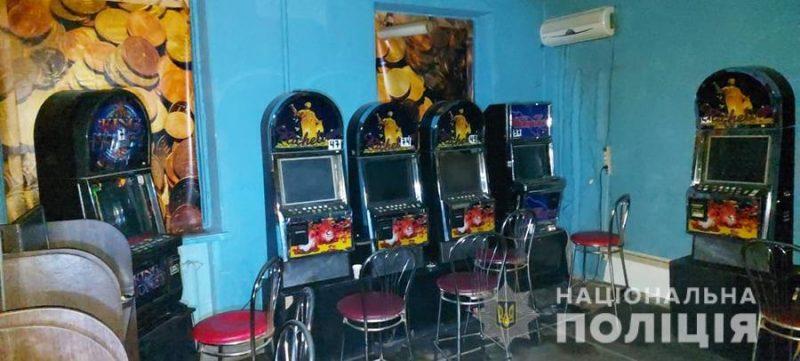 Зал игровых автоматов в Токмаке