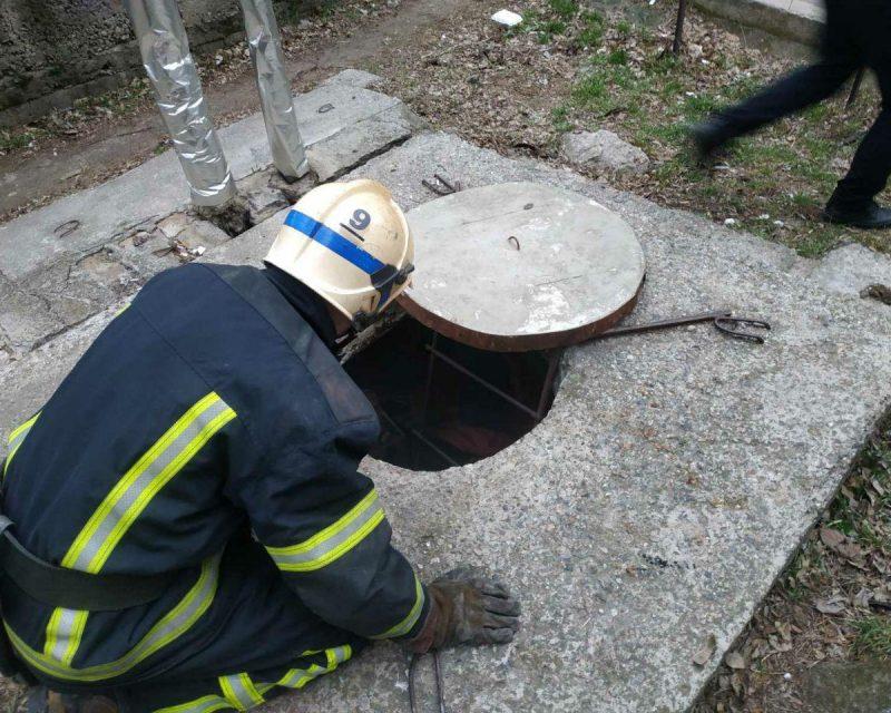 В Мелитополе на пожаре спасли человека