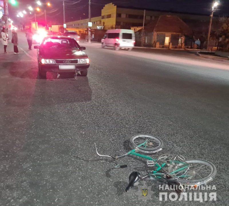 В Запорожской области водитель насмерть сбил мужчину, который катил велосипед по дороге