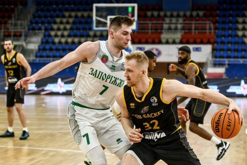 БК «Запорожье» «вырывает» важнейшую победу у «Киев-Баскета»