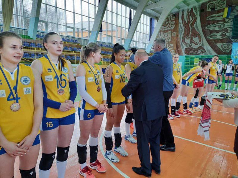 ВК «Орбита-ЗНУ» одолела луцкую «Волынь-Университет» в серии за третье место чемпионата