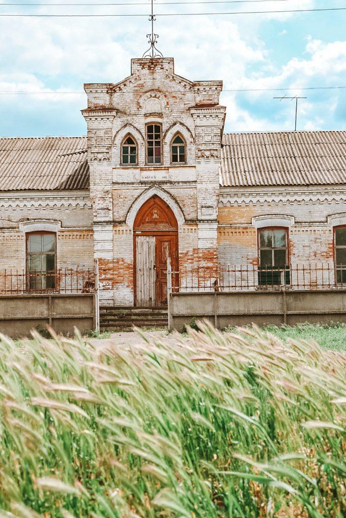 Как в селе Запорожской области выглядит кирха, построенная немецкими переселенцами - фото