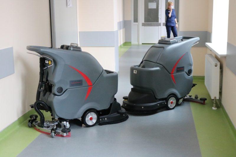 машины для уборки