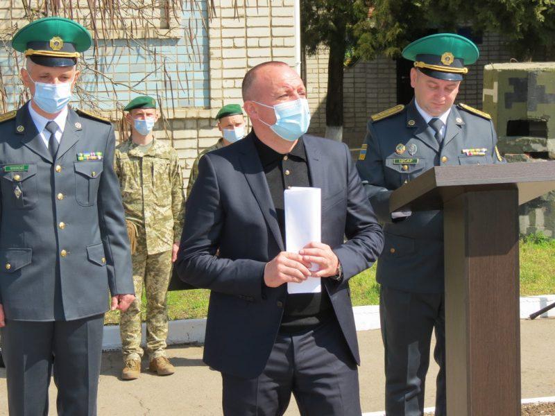 В курортном городе Запорожской области отметили День пограничника
